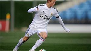 'Messi của Na Uy' Odegaard phô diễn kỹ thuật cực đỉnh ở đội trẻ Real