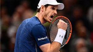 Vô địch Paris Masters, Murray đón ngôi số 1 thế giới theo cách HOÀN HẢO nhất