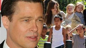 Brad Pitt lao vào cuộc chiến giành nuôi con với Angelina Jolie