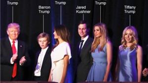 Nhận diện toàn bộ thành viên gia đình Donald Trump