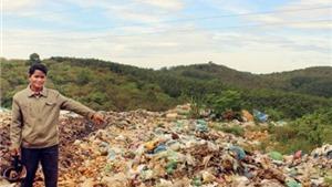 Bãi rác quá tải gây ô nhiễm nghiêm trọng