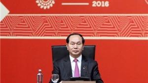 Toàn văn bài phát biểu của Chủ tịch nước Trần Đại Quang về Năm APEC 2017