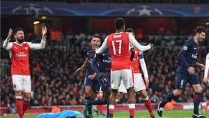 Arsenal 2-2 PSG: 'Pháo thủ' lại xếp nhì bảng, có nguy cơ đụng phải đại gia
