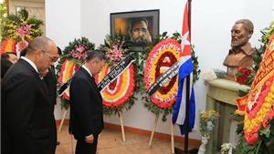 Việt Nam để tang đồng chí Fidel Castro với nghi thức Quốc tang vào ngày 4/12/2016