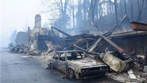 Cháy rừng khủng khiếp ở Mỹ: 700 ngôi nhà cháy rụi, 7 người  chết, 45 người bị thương