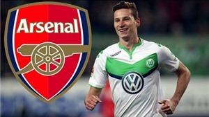Tin vui cho Arsenal: Julian Draxler 'nổi loạn', sẽ rời Wolfsburg trong tháng sau