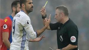 Costa cuối cùng đã nổi nóng, bị treo giò nhưng không thể dừng ghi bàn