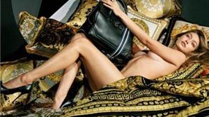 Siêu mẫu Gigi Hadid khỏa thân trong quảng cáo Versace