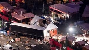 Vụ đâm xe tải ở Đức: Thủ tướng Angela Merkel điện đàm với Tổng thống Mỹ thảo luận tình hình an ninh