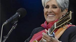 Joan Baez, danh ca hát dưới bom Mỹ, được vào Sảnh Danh tiếng Rock & Roll