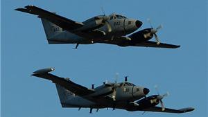 Rơi máy bay quân sự tại Malaysia