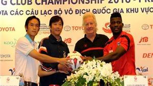 Toyota Mekong Club Championship 2016: SHB Đà Nẵng buộc phải thắng
