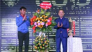 Than Quảng Ninh tưng bừng làm lễ xuất quân dự V-League 2017