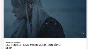 'Lạc Trôi' của Sơn Tùng M-TP lập kỷ lục hơn 4 triệu lượt xem sau 1 ngày ra mắt