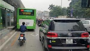 Tạt đầu, cướp làn xe buýt nhanh sẽ bị phạt nguội tới 1,2 triệu đồng