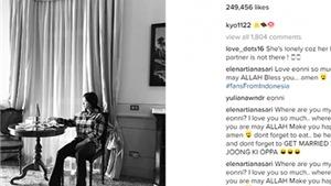 Fan thắt ruột khi thấy Song Hye Kyo cô đơn trong bức ảnh đăng trên Instagram