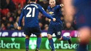 Stoke 1-1 Man United: Rooney lập siêu phẩm ở phút cuối, đi vào lịch sử Man United