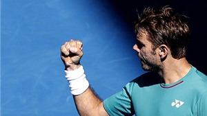 Wawrinka 'hạ đẹp' Tsonga, hẹn Federer ở bán kết Australian Open 2017