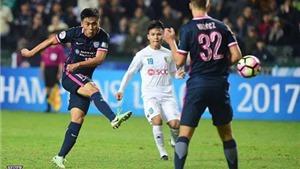 Thua Kitchee, Hà Nội FC giã biệt AFC Champions League