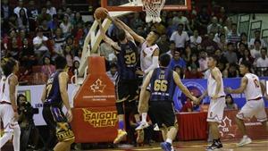 Saigon Heat lại thua đối thủ vừa thắng