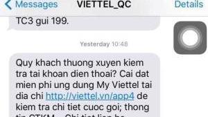 Viettel phản hồi việc tin nhắn có ký tự lạ giống chữ Trung Quốc: Lỗi kỹ thuật