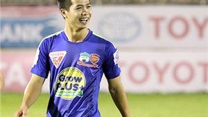 HLV Trần Bình Sự chê, Công Phượng 'đáp trả' bằng cú đúp bàn thắng