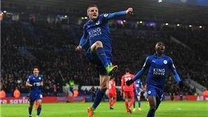Leicester 3-1 Liverpool: Vardy lập cú đúp, Leicester không Ranieri bỗng nhiên bùng nổ