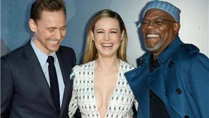 Brie Larson gợi cảm bên dàn sao 'Kong: Skull Island' ngày chiếu ra mắt