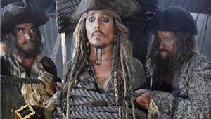 Cướp biển vùng Caribbean 5: Johnny Depp không mặc quần