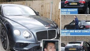 Siêu xe của Alexis Sanchez đắt bằng tất cả xe của cầu thủ Lincoln City cộng lại