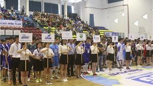 Hơn 1000 sinh viên 'mở hội' ở giải thể thao sinh viên Việt Nam 2017