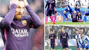 ĐIỂM NHẤN Deportivo 2-1 Barcelona: Enrique đau đầu vì hàng thủ. Barca đang rất nhớ Neymar