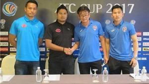 Than Quảng Ninh sợ trời mưa tại AFC Cup