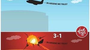 ẢNH CHẾ hài hước về trận thua 1-3 của Arsenal trước West Brom