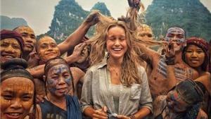 Cảnh 'thổ dân' Việt nghịch tóc Brie Larson khiến đạo diễn phim 'Kong: Skull Island' phấn khích
