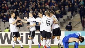 Azerbaijan 1-4 Đức: Schuerrle lập cú đúp, Đức vẫn 'VÔ ĐỐI' ở vòng loại World Cup