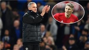 Mourinho tiết lộ những lời nói cuối cùng với Schweinsteiger ở Man United