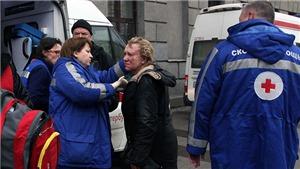 Nổ ga tàu điện ngầm ở Nga: 10 người chết, 50 người bị thương, số nạn nhân vẫn tăng