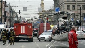 Toàn cảnh hiện trường vụ nổ ga tàu điện ngầm ở St Petersburg