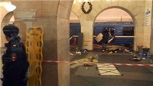 Nga bắt 6 nghi can khủng bố vụ nổ ga tàu điện ngầm