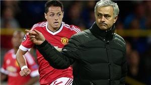 Vì sao Mourinho đang rất cần tiền đạo như Chicharito?