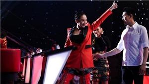 Giọng hát Việt: Thu Minh 'bỏ con', Tóc Tiên cứu vớt