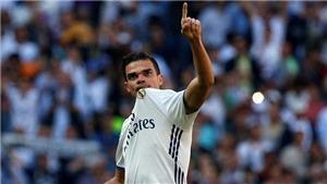 Pepe: 'Tôi vẫn chờ Real Madrid đổi ý. Chờ đến giây cuối cùng...'