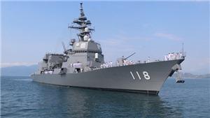 Chiến hạm Nhật Bản cập cảng Cam Ranh