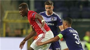 Man United có loại bỏ Pogba ở những trận đấu lớn tới đây?