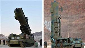 Triều Tiên lần đầu 'khoe' tên lửa đạn đạo phóng từ tàu ngầm