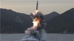 Tên lửa Triều Tiên nổ tung ngay sau khi bắn đi