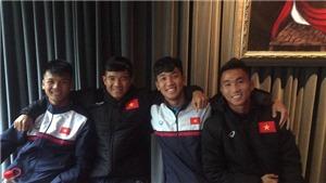 U20 Việt Nam hứng khởi sau chuyến bay dài đến Đức