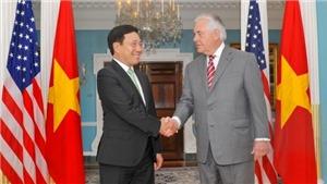 Phó Thủ tướng Phạm Bình Minh thăm Mỹ, trao thư của Chủ tịch nước tới Tổng thống Donald Trump