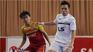 Giải futsal VĐQG 2017: Thái Sơn Nam vô địch lượt đi